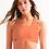 Orange Sherbet Seemless Sports Bra front