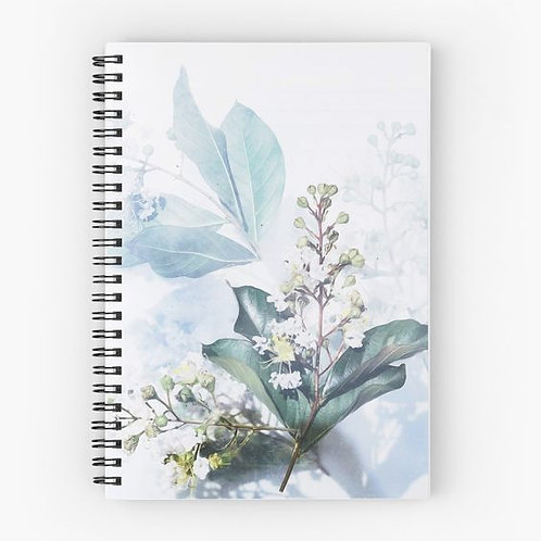 Delicate Bouquet Spiral Notebook