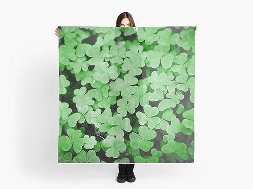 Carpet of Clovers Scarf