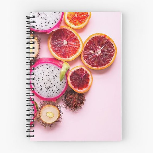 Fruity Spiral Notebook Front