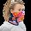 Blushing Rock Roses Gaiter woman mask left