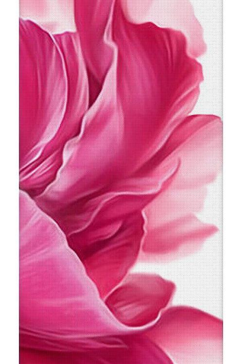 Passion Pink Flower Yoga Mat