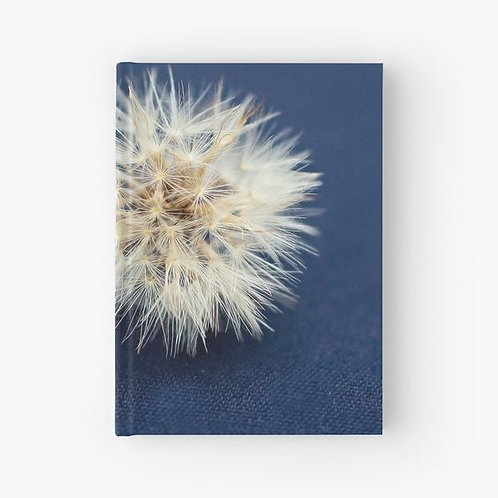 Blue Denim and Dandelion Hardbound Journal