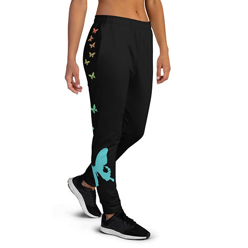 Butterfly Joggers womens right side