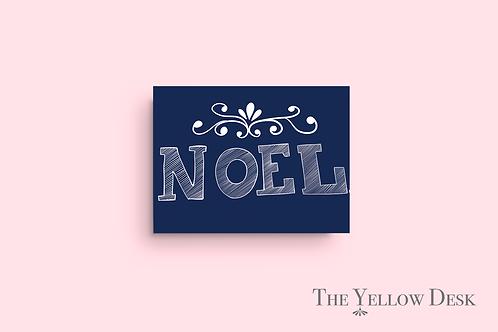 Noel Gift Wrap pink