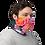Blushing Rock Roses Gaiter man mask left