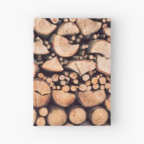 Firewood Hardbound Journal