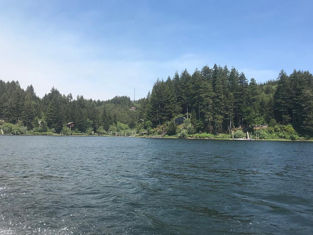 Tenmile Lake, Lakeside, Oregon - Oregon Coast (2018). Photo courtesy of The Yellow Desk.