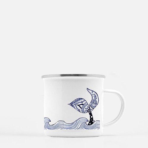 Mermaid Tail Camp Mug