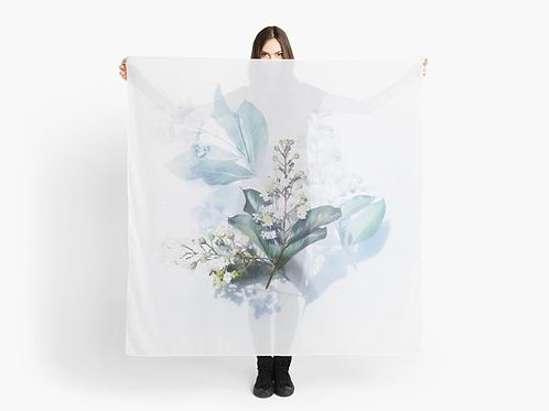 Delicate Bouquet Scarf
