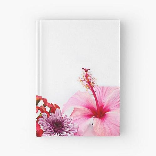Tropical Bunch Hardbound Journal Front View