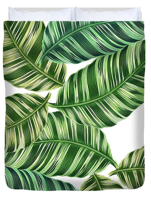 Feeling Tropical? Duvet Cover