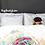 Thumbnail: Watercolor Rose Duvet Cover