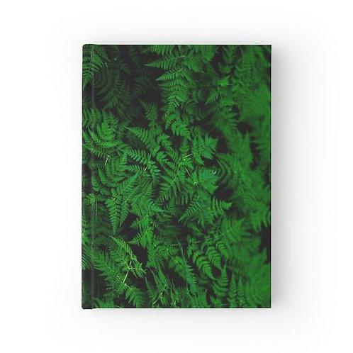 Cascade of Ferns Hardbound Journal
