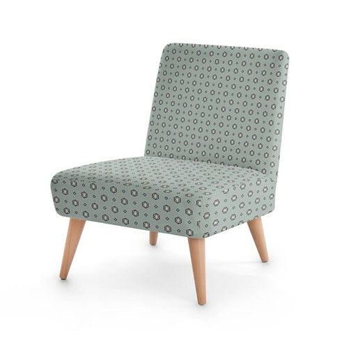 Cactus Flower Occasional Chair Front