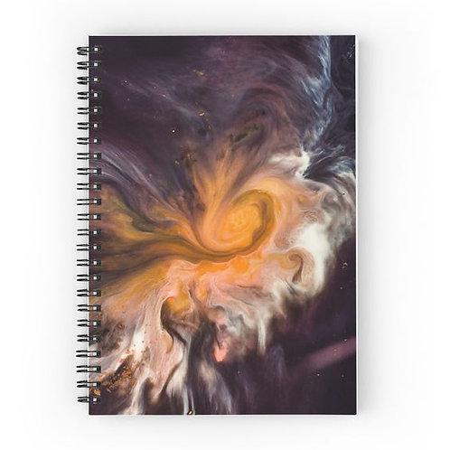 Celestial Spiral Notebook Front