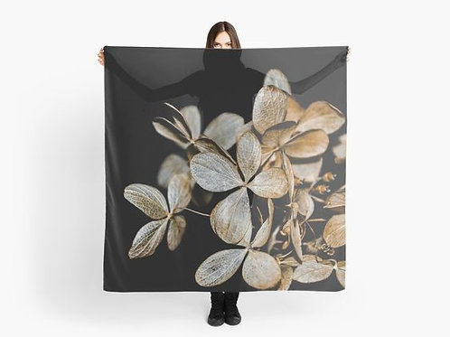 Gold Leaves Scarf