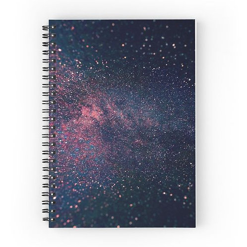 Cosmos Spiral Notebook Front