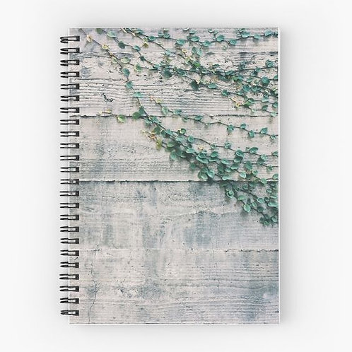The Wall Spiral Notebook Front