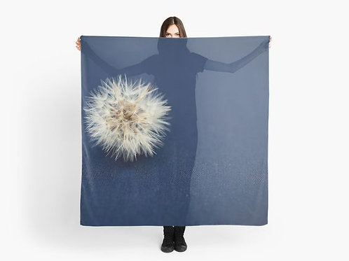 Denim and Dandelion Scarf