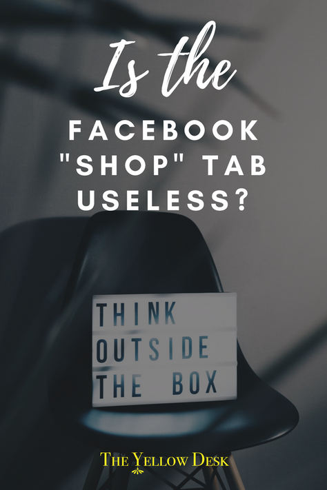 "Is the Facebook ""Shop"" Tab Useless?"