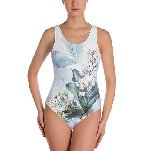 Delicate Bouquet One Piece Swimsuit
