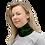 Cascade of Ferns Gaiter woman scarf left