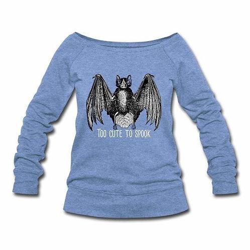 Too Cute to Spook Wideneck Sweatshirt