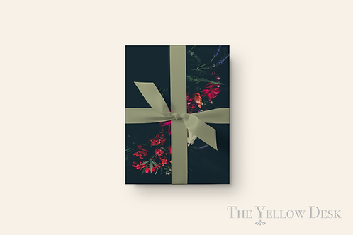 Nothin' but Flowers Gift Wrap vertical