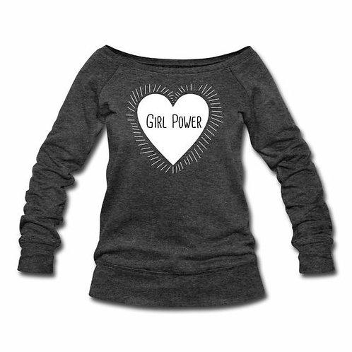 Girl Power Wideneck Sweatshirt