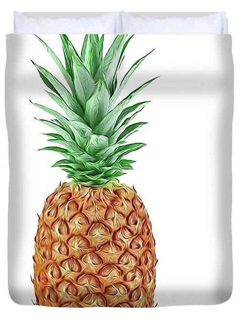 Pineapple Power Duvet Cover