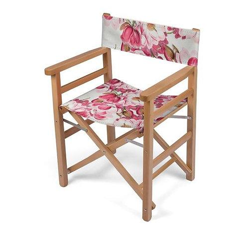 Pink Magnolia Directors Chair
