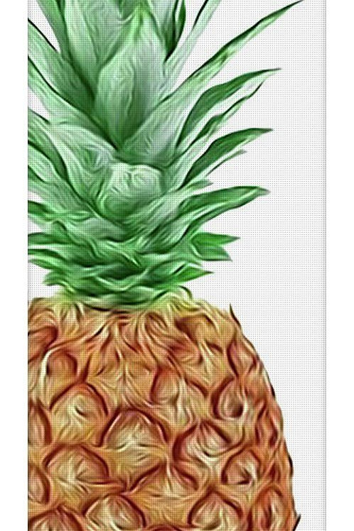Pineapple Power Yoga Mat