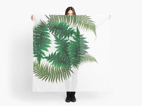 For the Love of Ferns Scarf