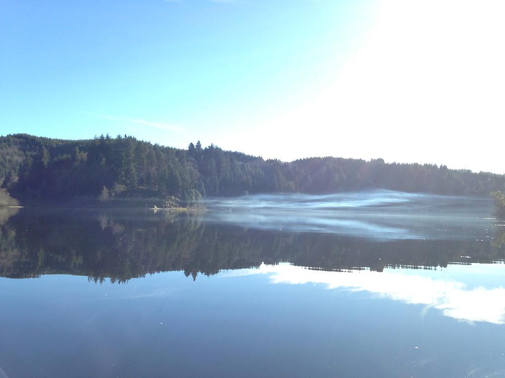 Tenmile Lake, March 2018. Lakeside, Oregon - Oregon Coast. Photo courtesy of The Yellow Desk.