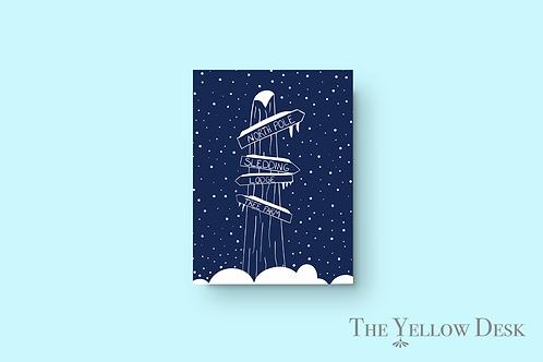 Winter Adventures Gift Wrap