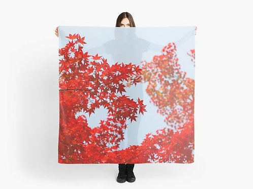 Red Leaves Scarf