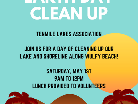 Earth Day Lake & Shore Clean Up April 2021