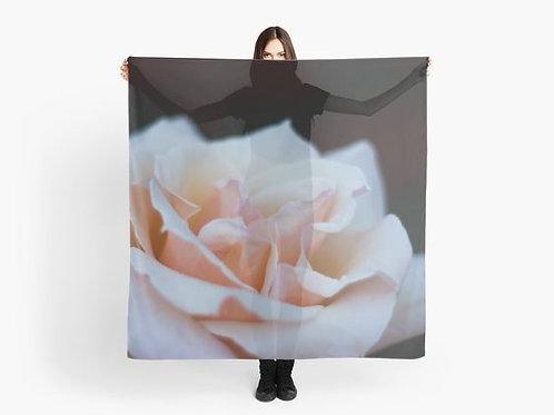 Soft Pink Rose Scarf