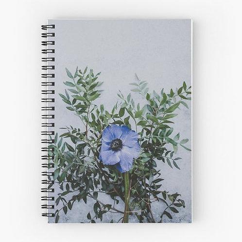 Wallflower I Spiral Notebook Front