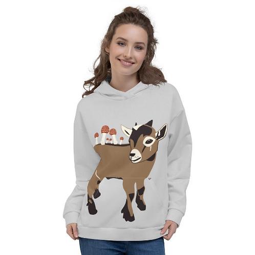 Mr. Goat Unisex Hoodie