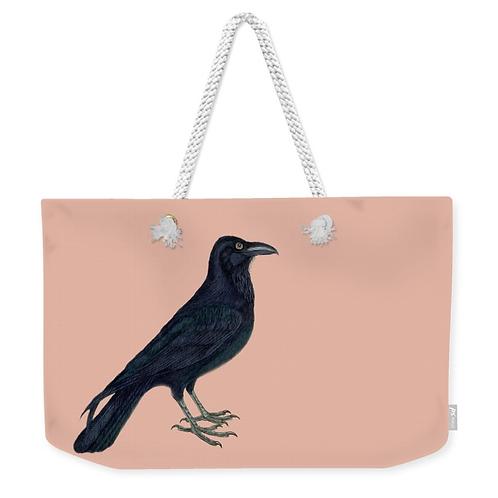 Raven Weekender Tote Bag Front