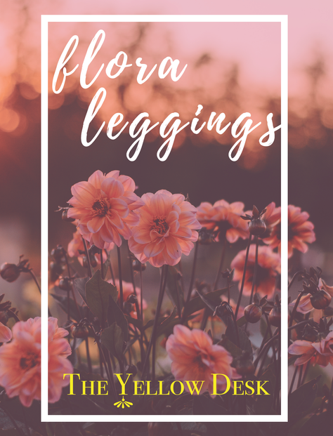 NEW LOOK BOOK! Flora Leggings