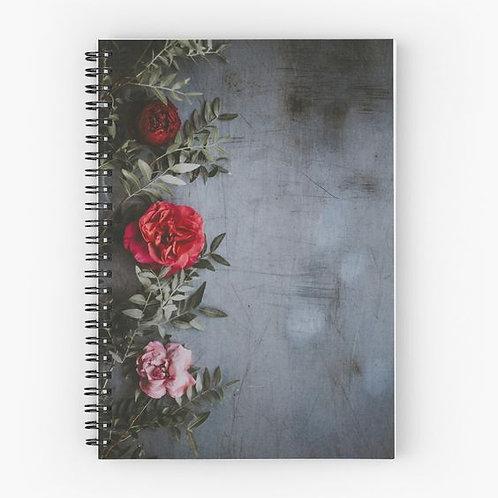 Wallflower IV Spiral Notebook Front