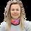 Blushing Rock Roses Gaiter woman scarf