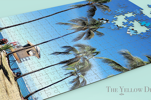 Lifeguard Tower in Hawaii Jigsaw Puzzle