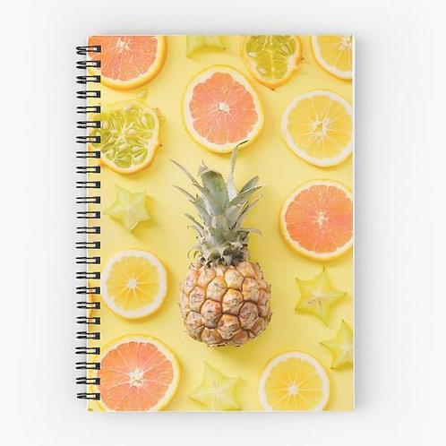 Citrus Bonanza Spiral Notebook Front