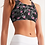 Camo and Roses Sports Bra right
