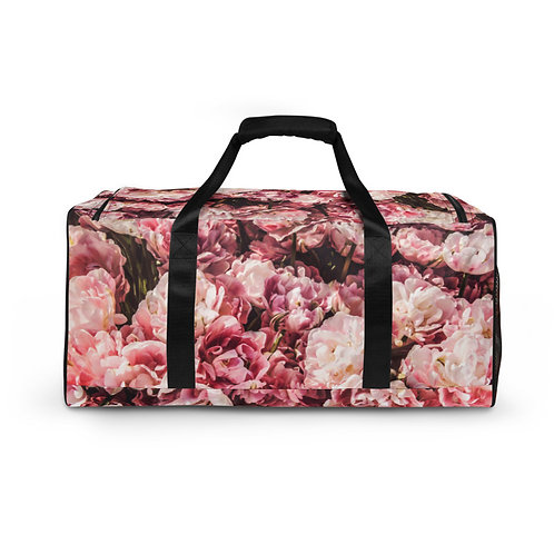Sing a Song of Flowers Duffle Bag