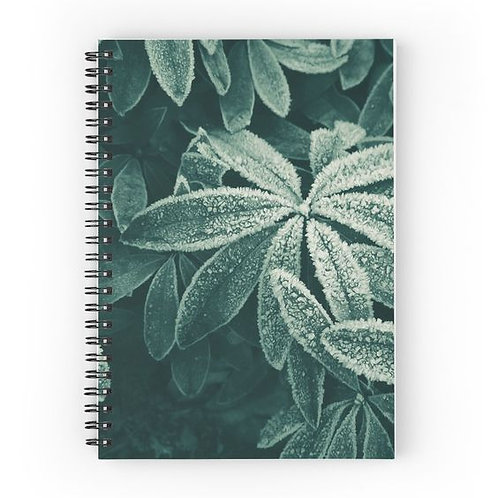 Frosted Rhodies Spiral Notebook